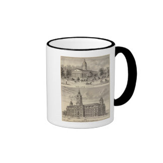State Capitol , Marion County Court House Mug
