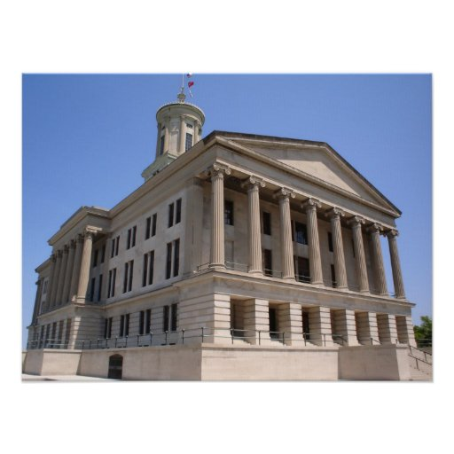 State Capitol - Nashville, Tennessee Print