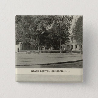 State Capitol, NH State Bldg, Columbian Exposition Button