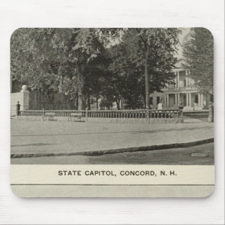 State Capitol, NH State Bldg, Columbian Exposition Mouse Pad