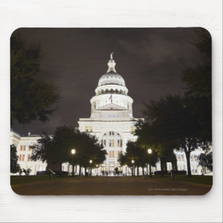 State Capitol of Austin, Texas at Night Mouse Pad