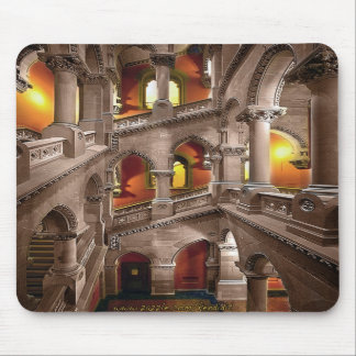 State Capitol of NY - Staircase  (albany) Mouse Pad