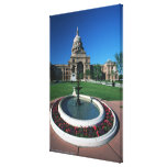 'State Capitol of Texas, Austin' Stretched Canvas Print