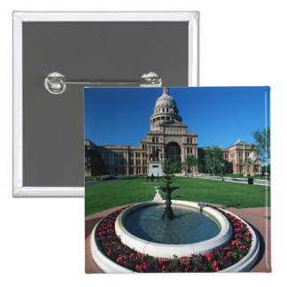 'State Capitol of Texas, Austin' Pinback Button