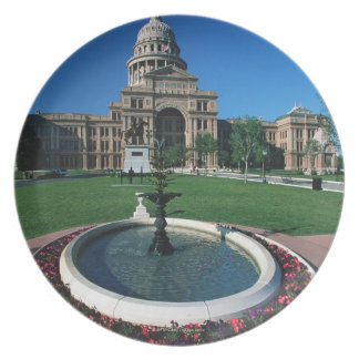 'State Capitol of Texas, Austin' Dinner Plate