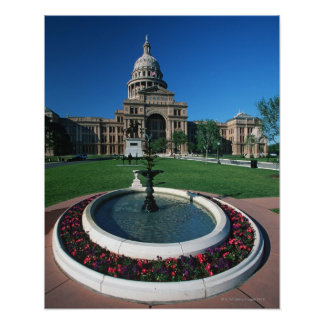 'State Capitol of Texas, Austin' Poster