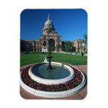 'State Capitol of Texas, Austin' Vinyl Magnets