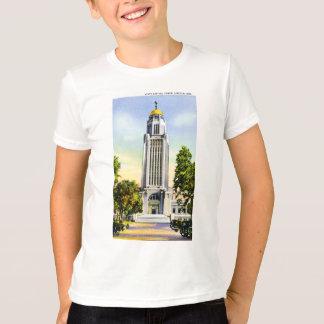 State Capitol Tower, Lincoln, Nebraska T-Shirt