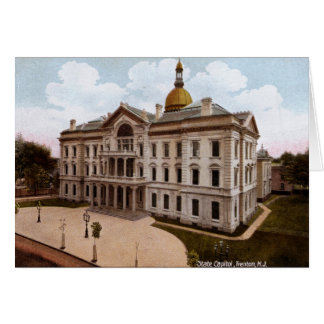 State Capitol, Trenton NJ Vintage Greeting Card