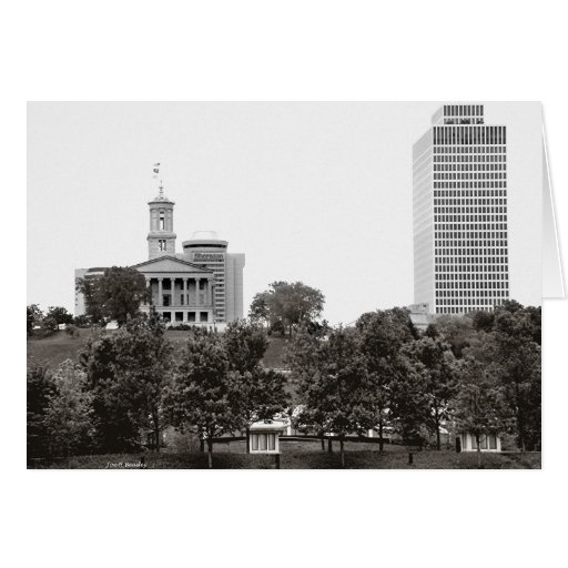 State Captiol Nashville Tennessee Greeting Cards