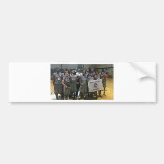 State championship picture bumper sticker