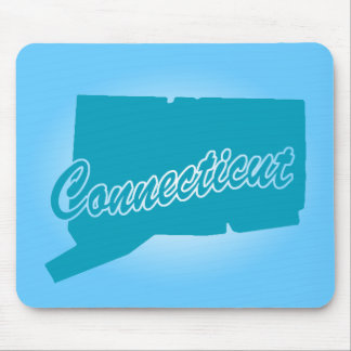 State Connecticut Mouse Pad