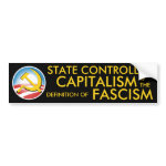 State Controlled Capitalism bumpersticker