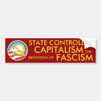 State Controlled Capitalism Car Bumper Sticker