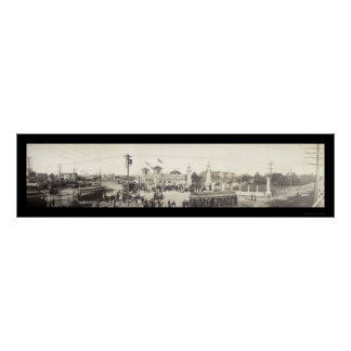 State Fair Dallas TX Photo 1908 Poster