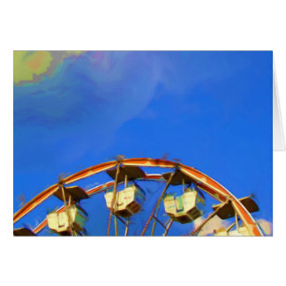 State Fair Ferris Wheel, Indianapolis, Indiana Card