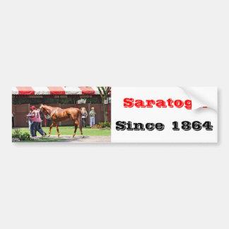 State Flag in the Saratoga Paddock Bumper Sticker
