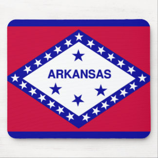State Flag of Arkansas Mouse Pad