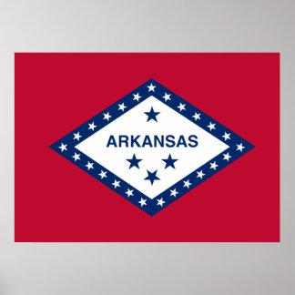 State Flag of Arkansas Poster