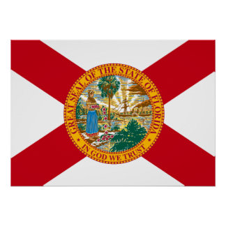 State Flag of Florida Poster