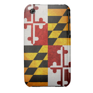 State Flag of Maryland iPhone 3 Case-Mate Case