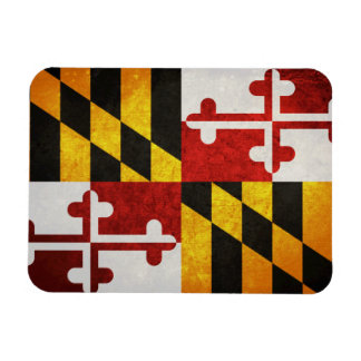 State Flag of Maryland Magnet