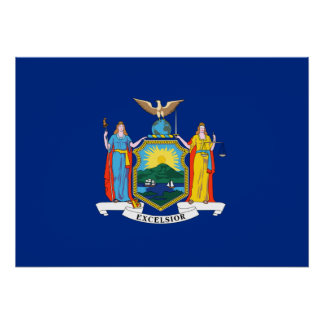 State Flag of New York Poster
