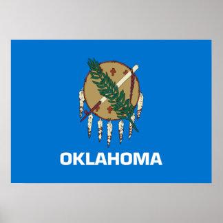 State Flag of Oklahoma Poster