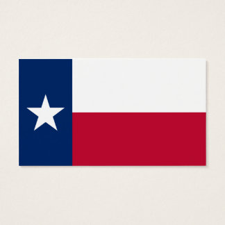 State Flag of Texas Business Card