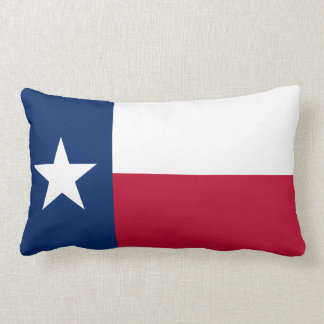 State Flag of Texas Lumbar Pillow