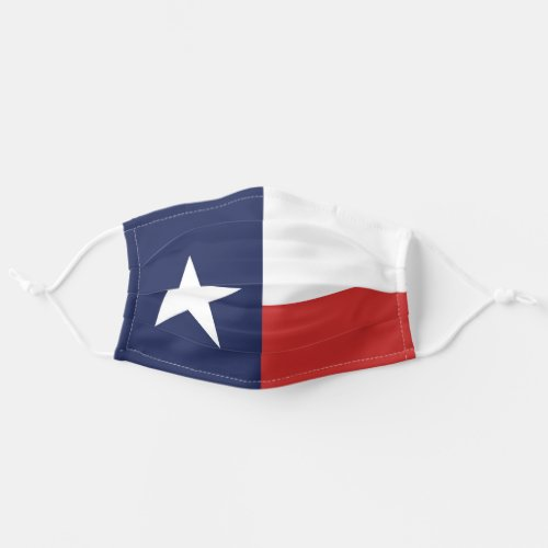 State Flag of Texas USA Cloth Face Mask