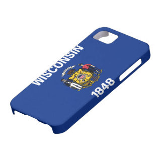 State Flag of Wisconsin iPhone SE/5/5s Case