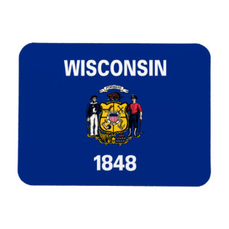 State Flag of Wisconsin Magnet