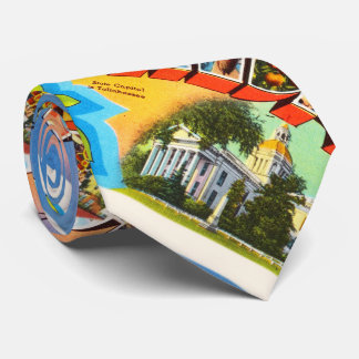 State Florida FL Old Vintage Travel Souvenir Neck Tie
