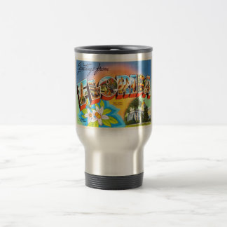 State Florida FL Old Vintage Travel Souvenir Travel Mug