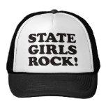 State Girls - Black Trucker Hat