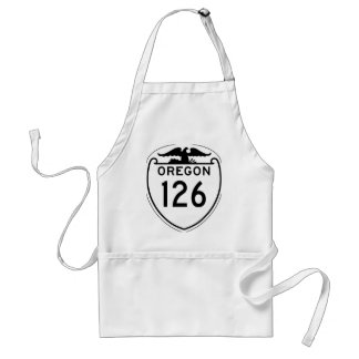 State Highway 126, Oregon, Old Style 1948 Adult Apron