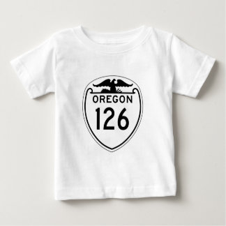 State Highway 126, Oregon, Old Style 1948 Baby T-Shirt