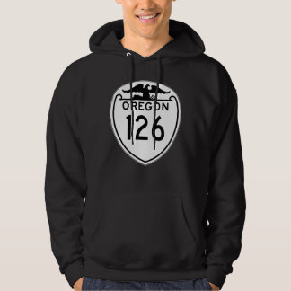 State Highway 126, Oregon, Old Style 1948 Hoodie