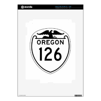 State Highway 126, Oregon, Old Style 1948 Skins For iPad 2