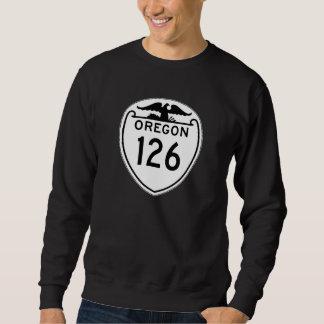 State Highway 126, Oregon, Old Style 1948 Sweatshirt