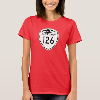 State Highway 126, Oregon, Old Style 1948 T-Shirt