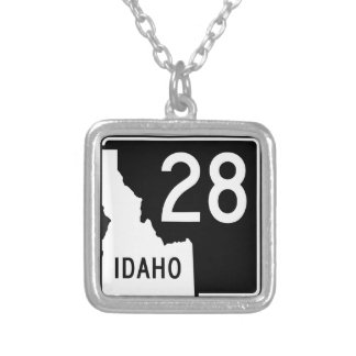 State Highway 28, Idaho, USA Necklaces