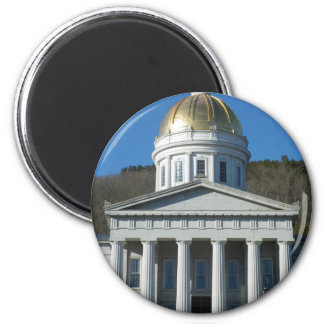 State House 2 Inch Round Magnet