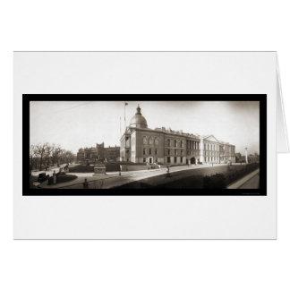 State House Boston MA Photo 1903 Card