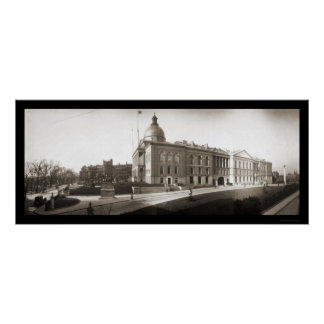 State House Boston MA Photo 1903 Poster