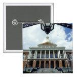 State House Capitol Building, Boston, MA, USA Pinback Button
