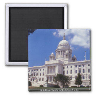 State House, Providence, Rhode Island, U.S.A. Magnet