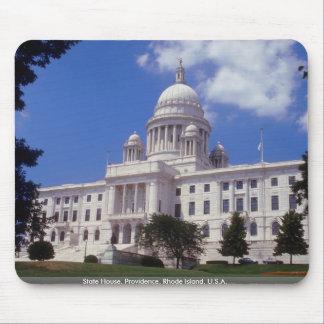 State House, Providence, Rhode Island, U.S.A. Mouse Pad