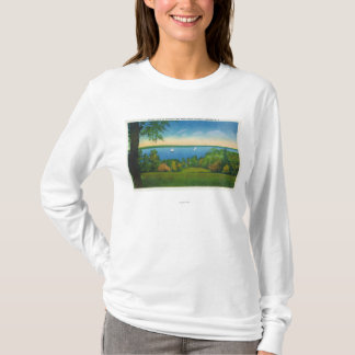 State Hwy Scenic View of Owasco Lake T-Shirt